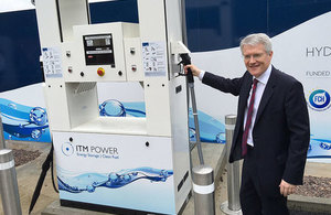 Department of Transport launches  £2m competition to promote zero-emission hydrogen vehicles