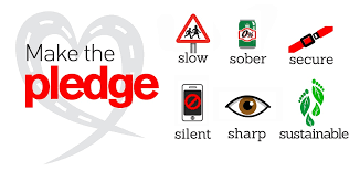 Don't forget – this week is Road Safety Week!