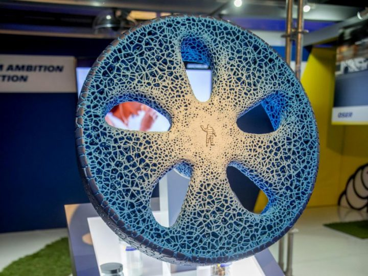 Airless, puncture free and lasts a lifetime – Michelin's new concept tyre